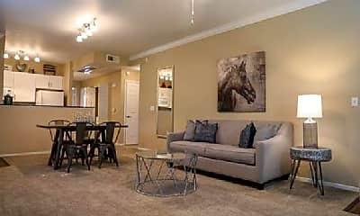 Living Room, 6601 Blue Oaks Blvd, 1
