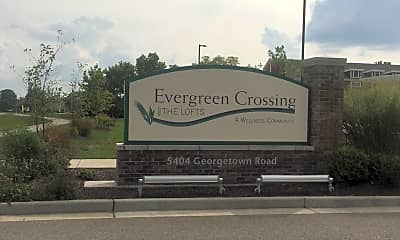 Evergreen Crossing and the Lofts, 1