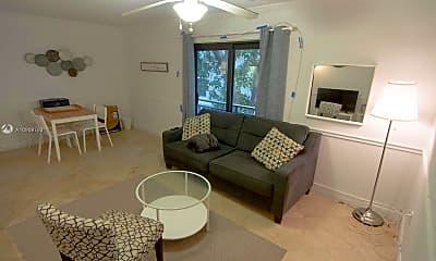 Living Room, 753 Michigan Ave 1B, 1