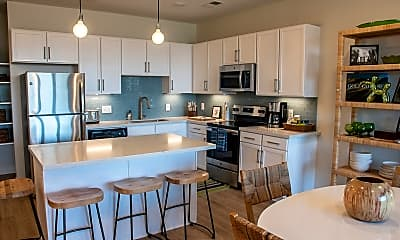 Kitchen, The Clubhouse at Riverside Village, 1