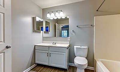 Bathroom, The Austin Apartment Homes, 2