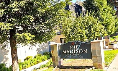 Community Signage, The Madison Belmont, 2