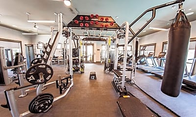 Fitness Weight Room, Main Street Village, 2