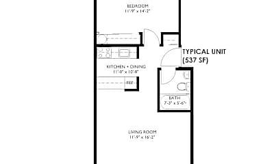 Bathroom, 3435 Rainier Ave S, 2