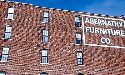 Community Signage, Abernathy Lofts, 2
