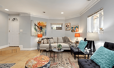 Living Room, 3 T St NW, 1
