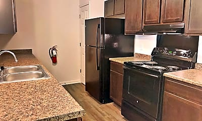 Kitchen, The Bluffs at Walnut Creek Apartment Homes, 1