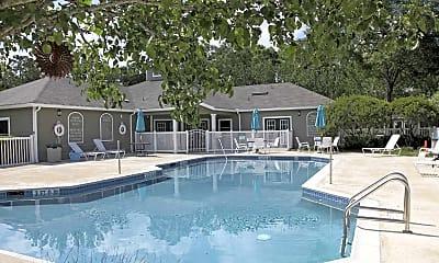 Pool, Pine Club Apartments, 1