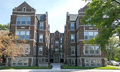Building, Boston Court Detroit, 1