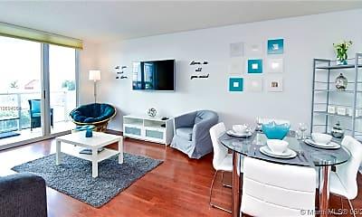 Living Room, 1155 Brickell Bay Dr 706, 0