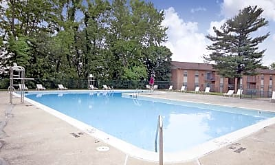 Pool, Painters Mill Apartments, 1