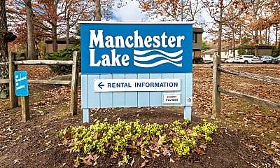 Community Signage, Manchester Lake, 0