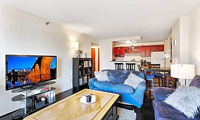 Living Room, 1225 Lasalle Ave 1204, 0