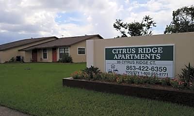 Citrus Ridge Apartments 1 & 2, 1