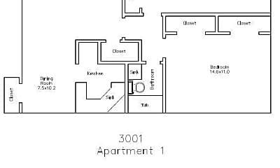 Greenbriar Terrace Apartments:  3003 W. 27th Ave, 1