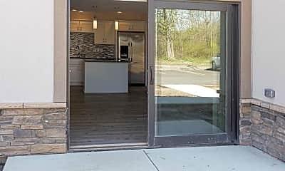 Patio / Deck, Legacy Apartments, 2
