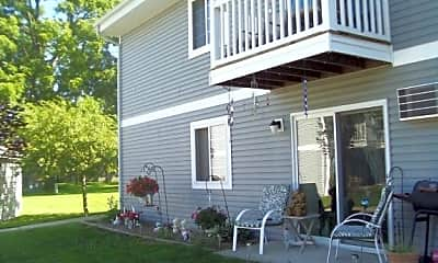 Enjoy your own patio or balcony., The Crossings, 1