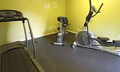 Fitness Weight Room, Covenant Crossing, 2