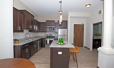 Kitchen, Birdtown Flats, 1