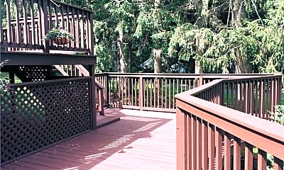 Patio / Deck, 108 Peaceable St, 2