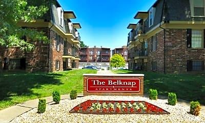 Community Signage, Belknap Apartments, 0