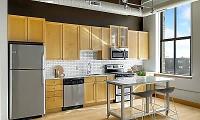 Kitchen, Lowertown Lofts, 1