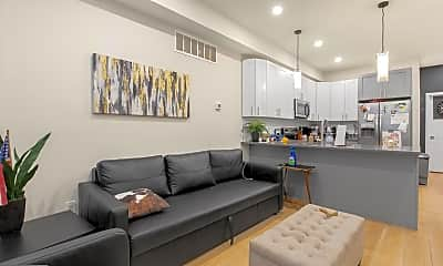 Living Room, 1702 Point Breeze Ave A, 0