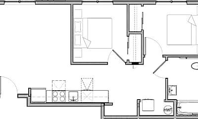 Building, 513 E 16th St, 2