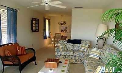 Living Room, 5400 Florida A1A E18, 1