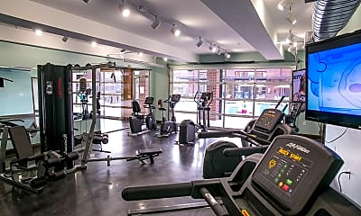 Fitness Weight Room, Greenway at Stadium Park, 1