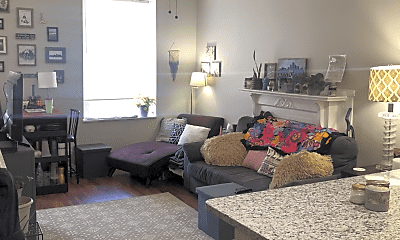 Living Room, 3849 Folsom Ave, 0