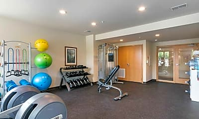 Fitness Weight Room, The Lodge At Walnut Grove, 2