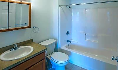 Bathroom, Fox Trace Apartments & Fox Trace West, 2