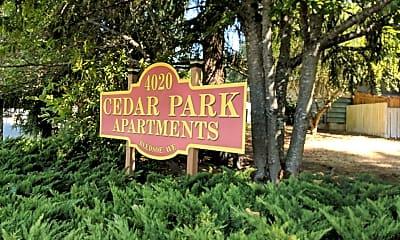 Cedar Park, 1