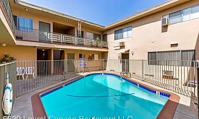 Pool, 5629 Laurel Canyon Blvd, 1