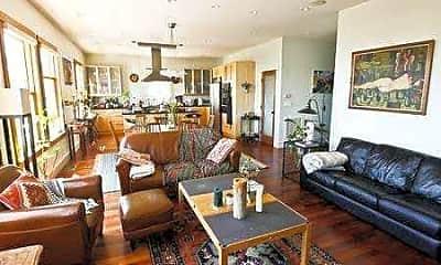 Living Room, 3386 Market St, 2