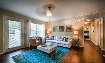 Living Room, 10600 Six Pines Dr, 2