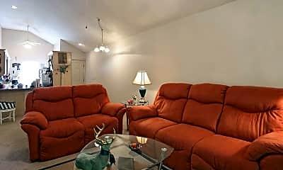 Living Room, Wellington Apartments, 1