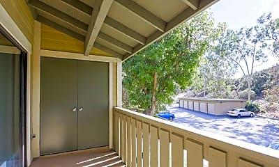 Patio / Deck, River Oaks Apartments, 2