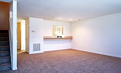 Living Room, Broadwater Townhomes, 1