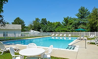 Pool, Naamans Village Apartments, 2