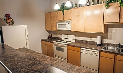 Kitchen, Vangard Lofts, 1