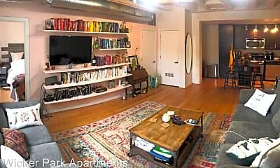 Living Room, 1150 N Milwaukee Ave, 1