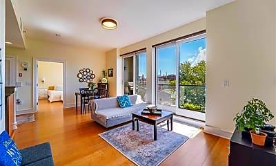Living Room, 924 Jefferson Street 5A, 0
