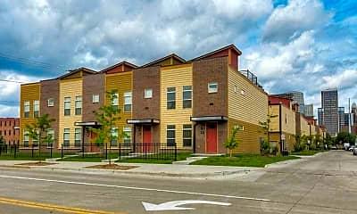 Building, 7th Street Brownstones, 1