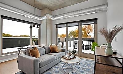 Living Room, 401 1st Ave NE 467, 1