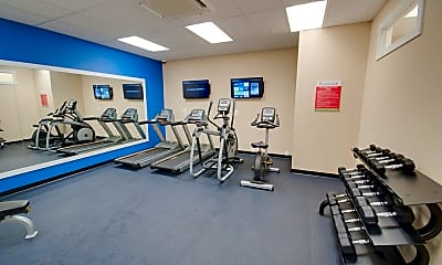 Fitness Weight Room, Promenade at Red Apple Town Center, 2