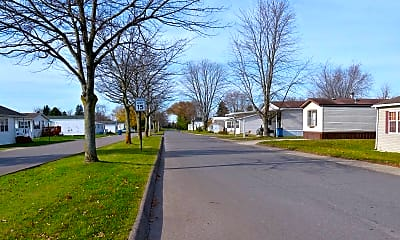 Landscaping, Childs Lake Estates, 1