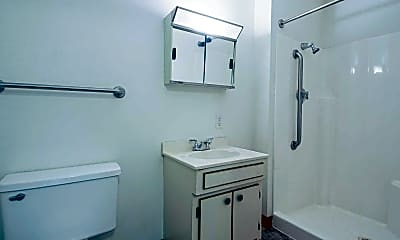 Bathroom, Whispering Pines, 2