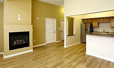 Living Room, 200 East Avenue Apartments, 1